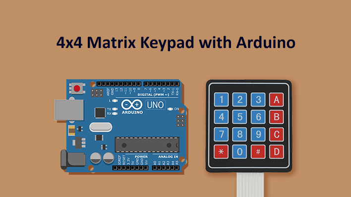 4x4 Matrix Keypad - Principle and Interfacing with Arduino