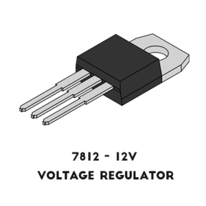 7812-Voltage-regulator