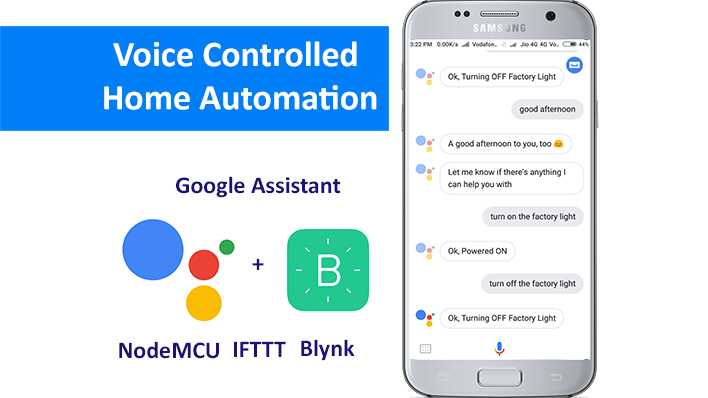 Voice Controlled Home Automation | Google Assistant