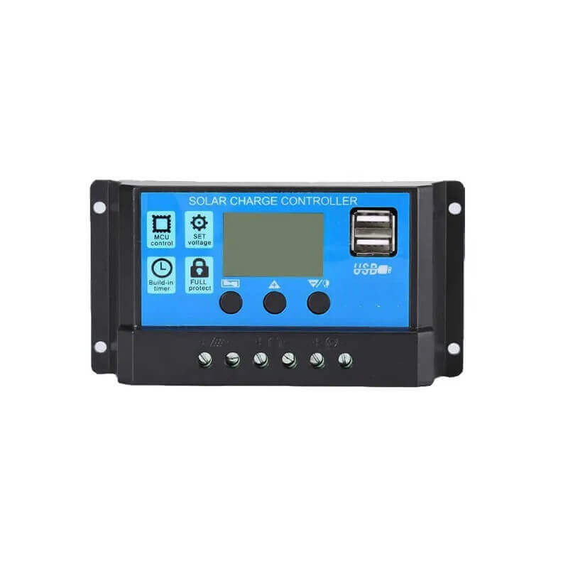 30A Intelligent LCD Solar Charge Controller 12/24V DC